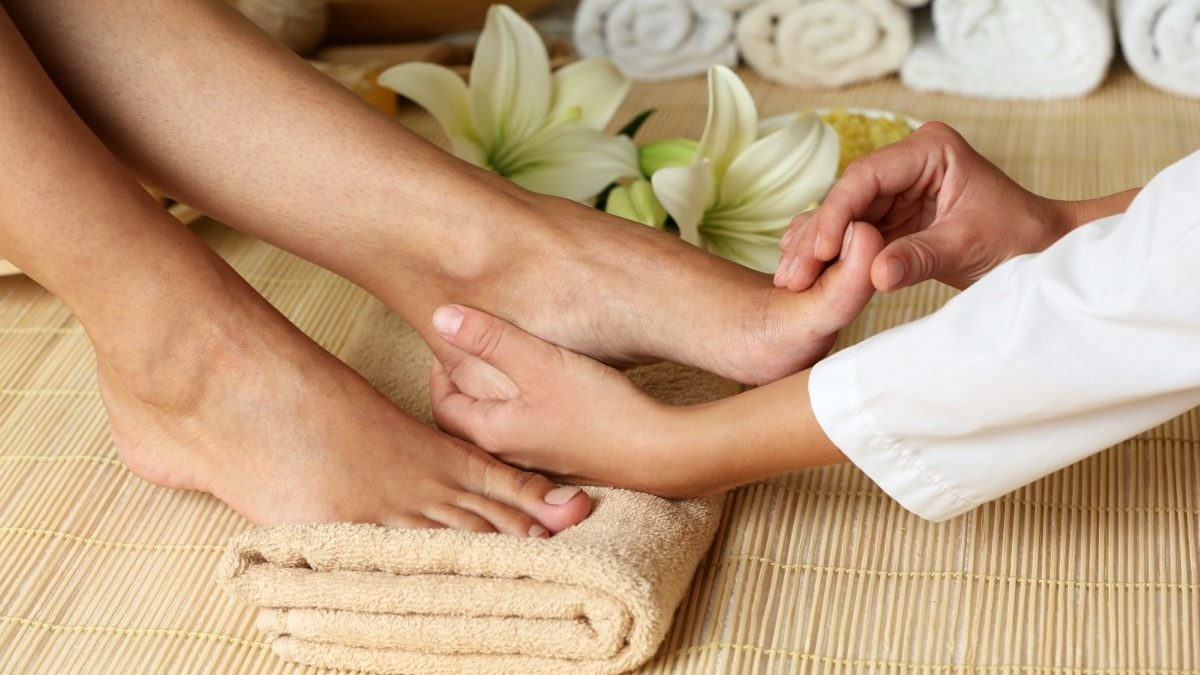 Massage pied - image